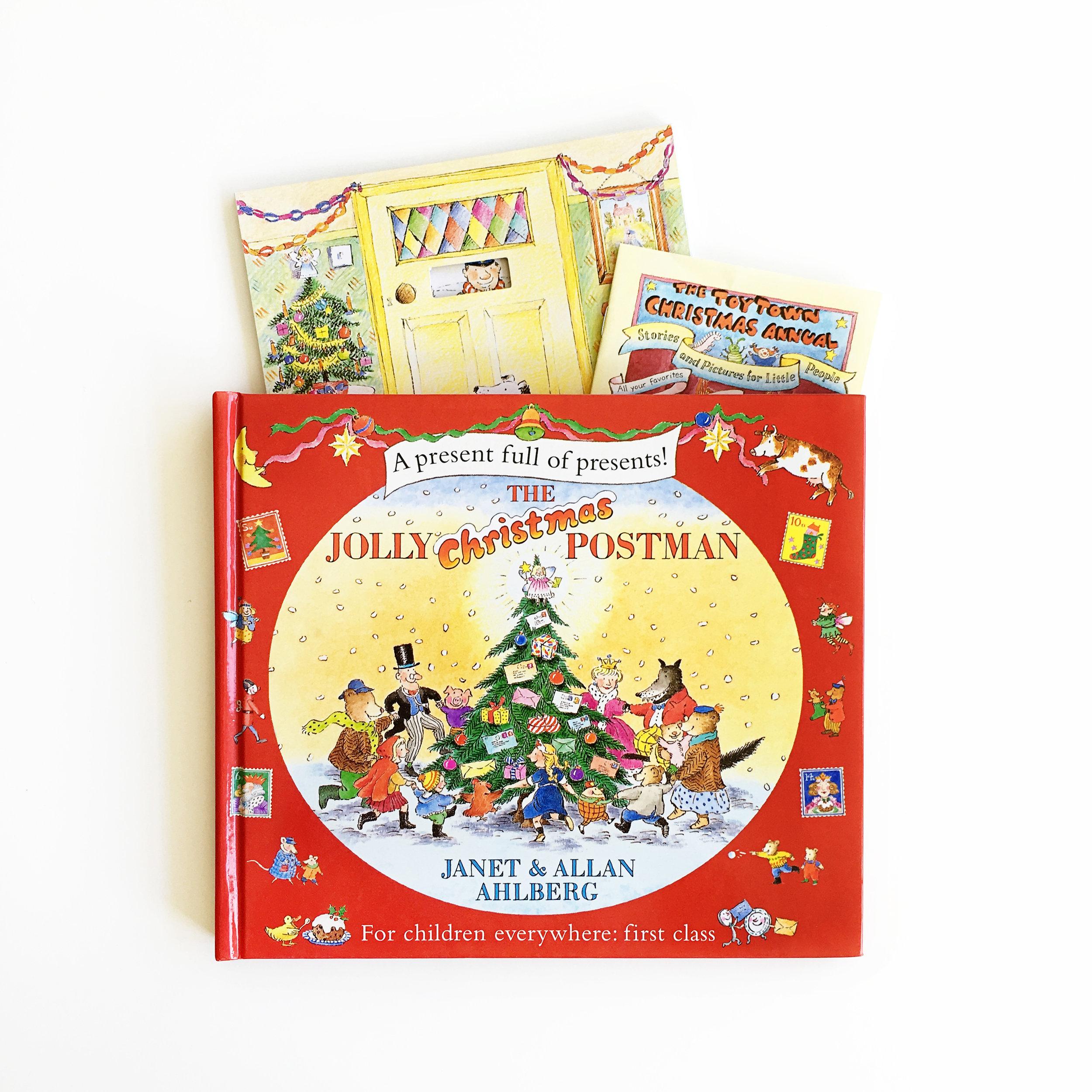 The Jolly Christmas Postman   Little Lit Book Series