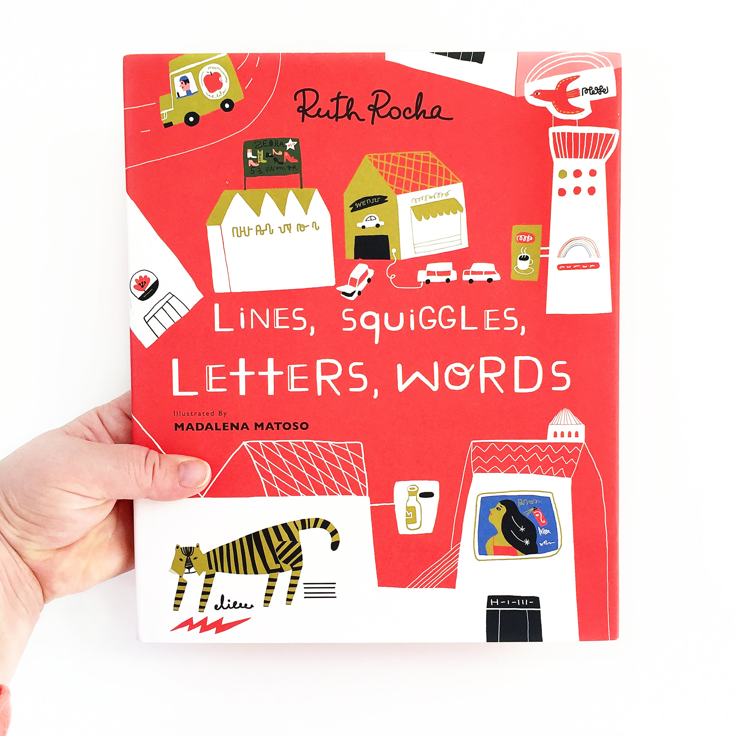 Lines, Squiggles, Letters, Words | Little Lit Book Series