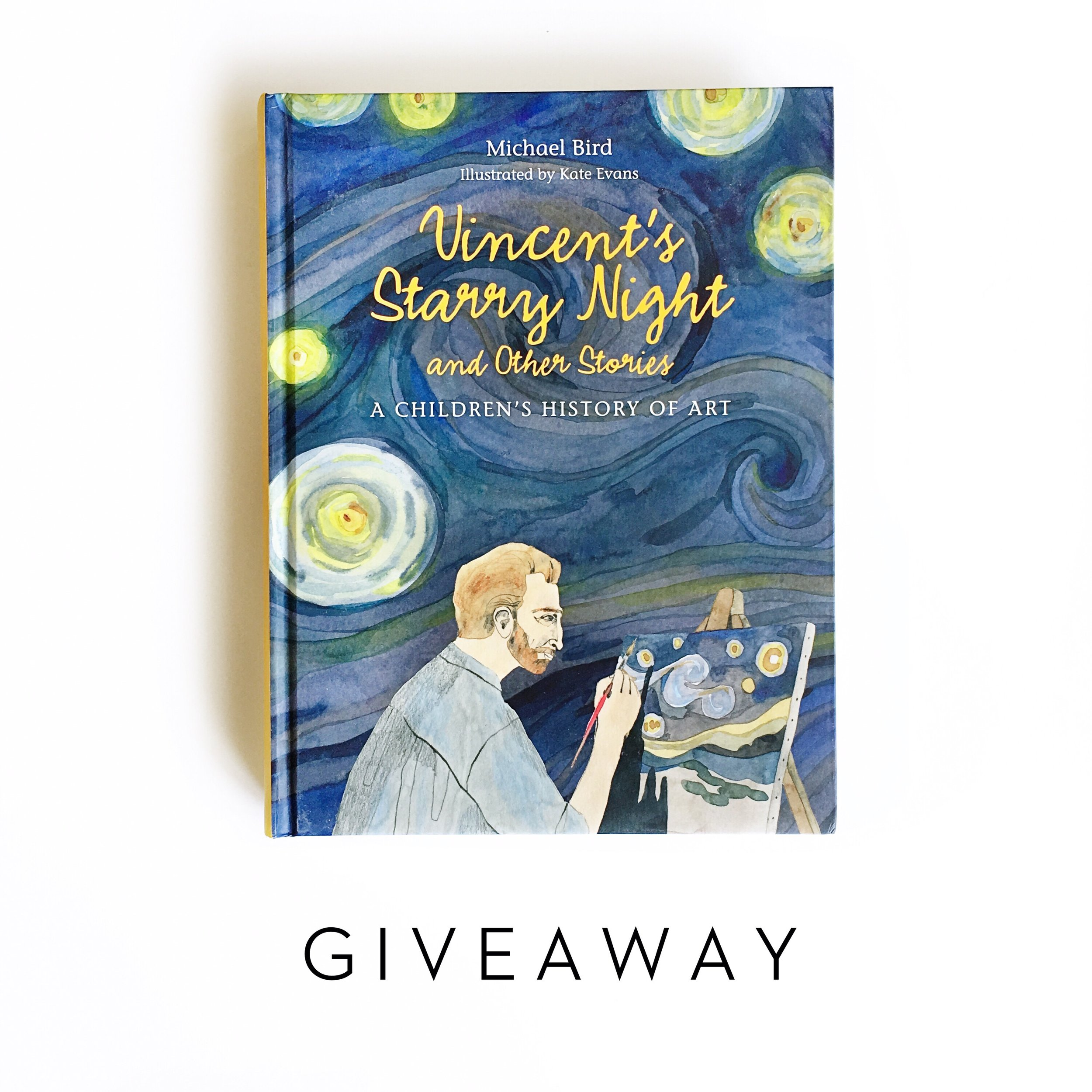 Vincents Starry Night + Giveaway | Little Lit Book Series