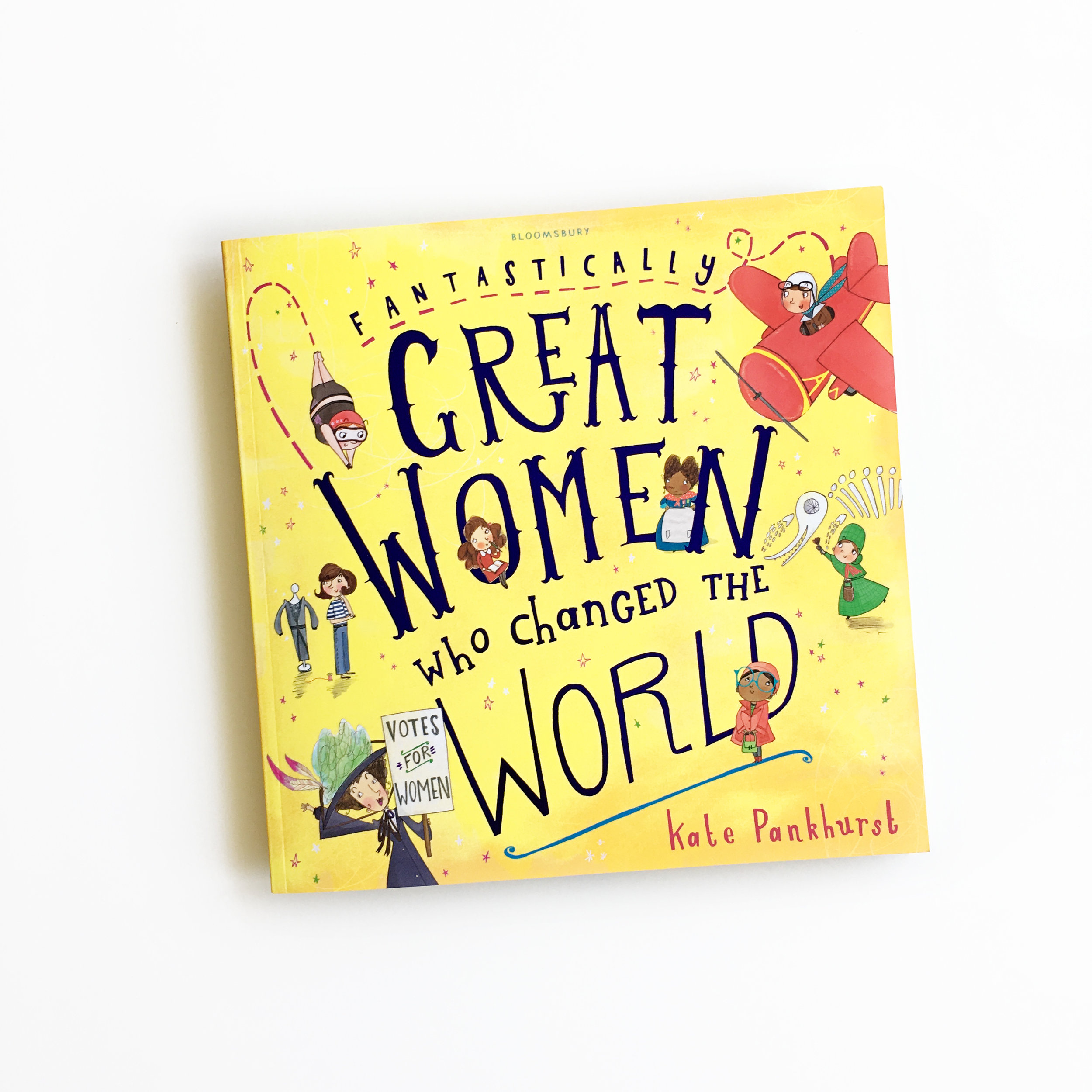 Fantastically Great Women Who Changed the World   Little Lit Book Series