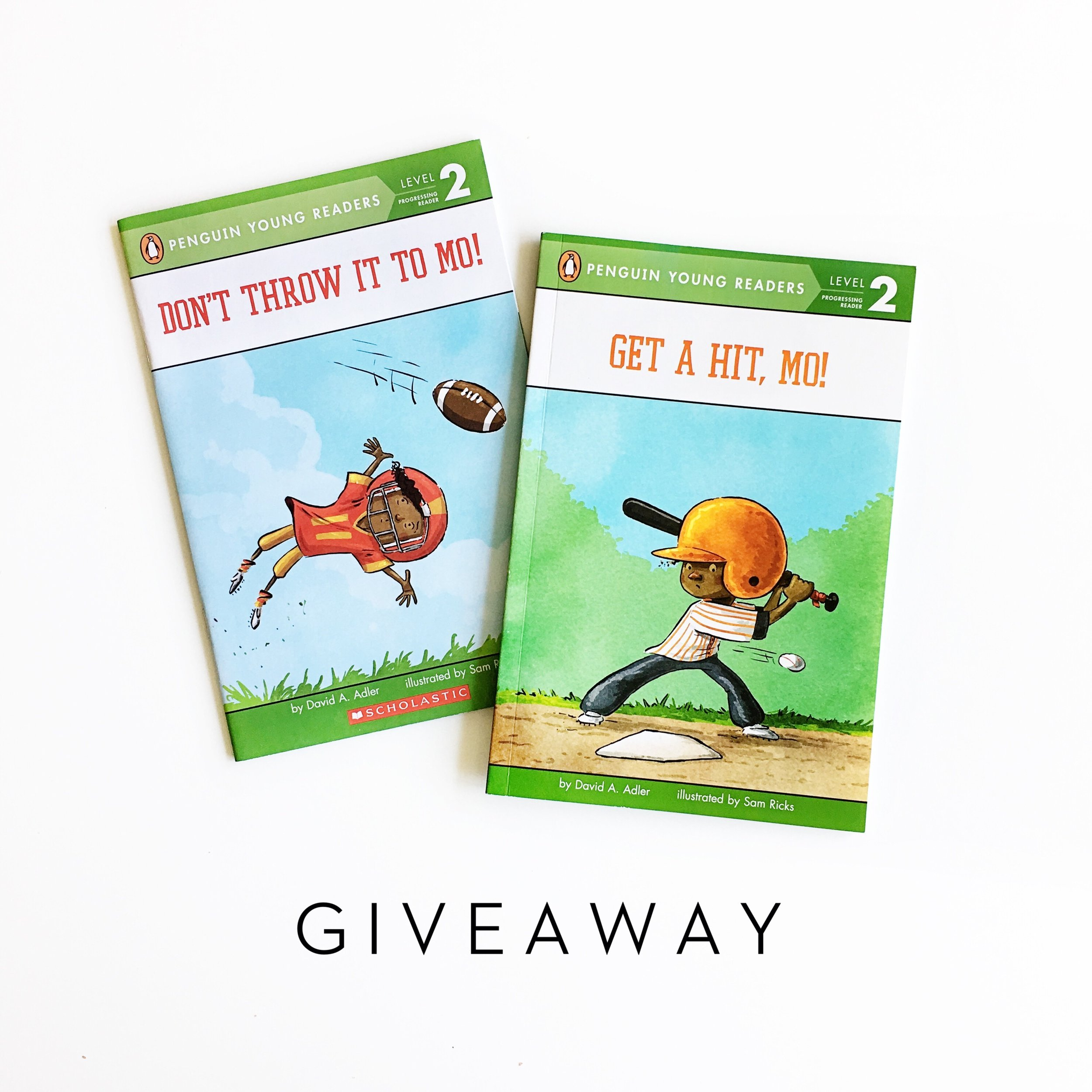 Don't Throw It to Mo! and Get a Hit, Mo! + Giveaway | Little Lit Book Series