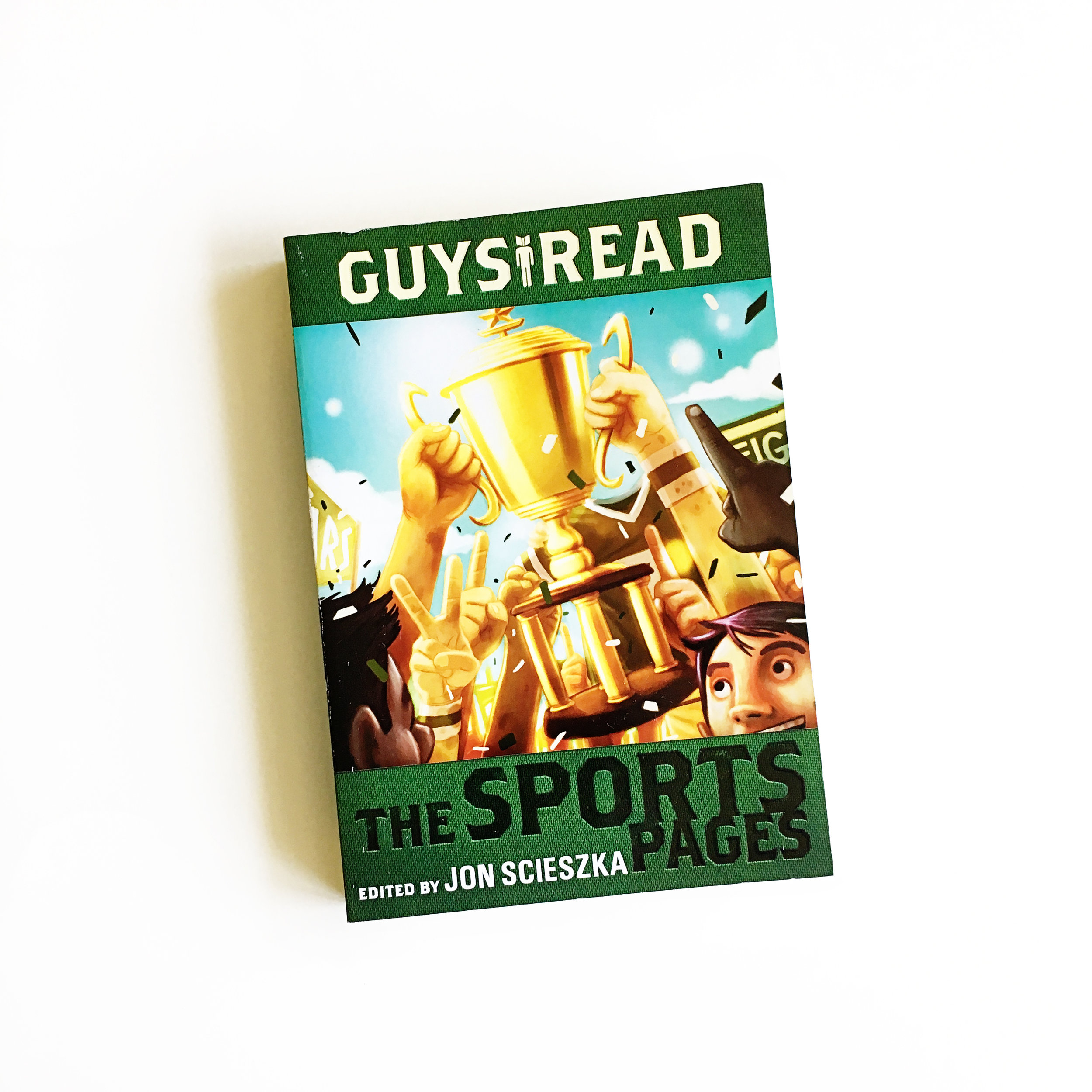 Guys Read: The Sports Pages | Little Lit Book Series