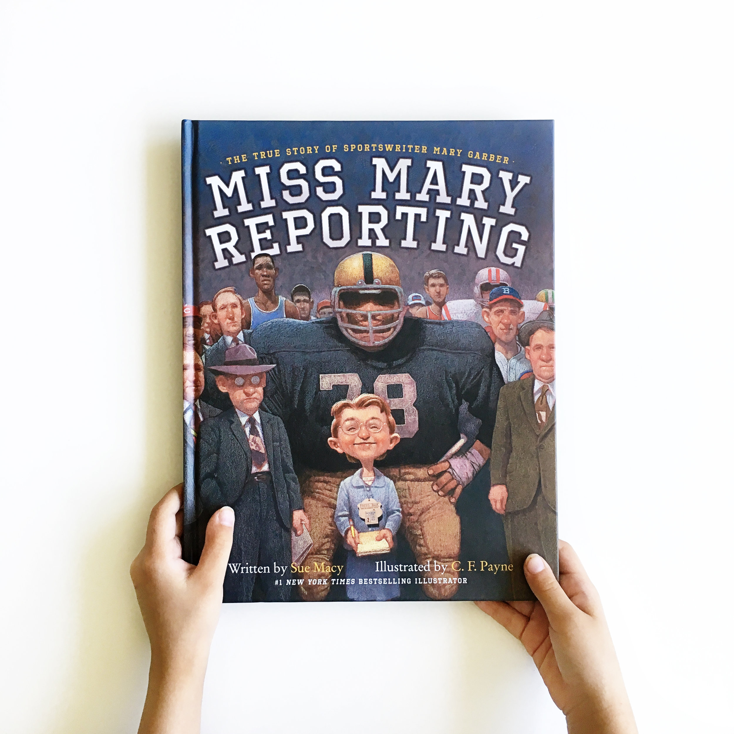 Miss Mary Reporting | Little Lit Book Series