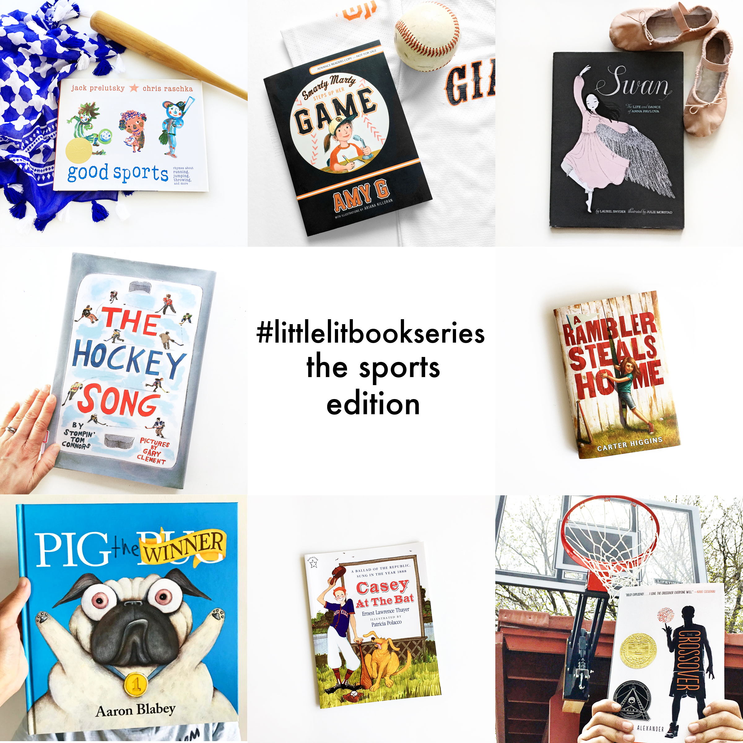 Little Lit Book Series: The Sports Edition
