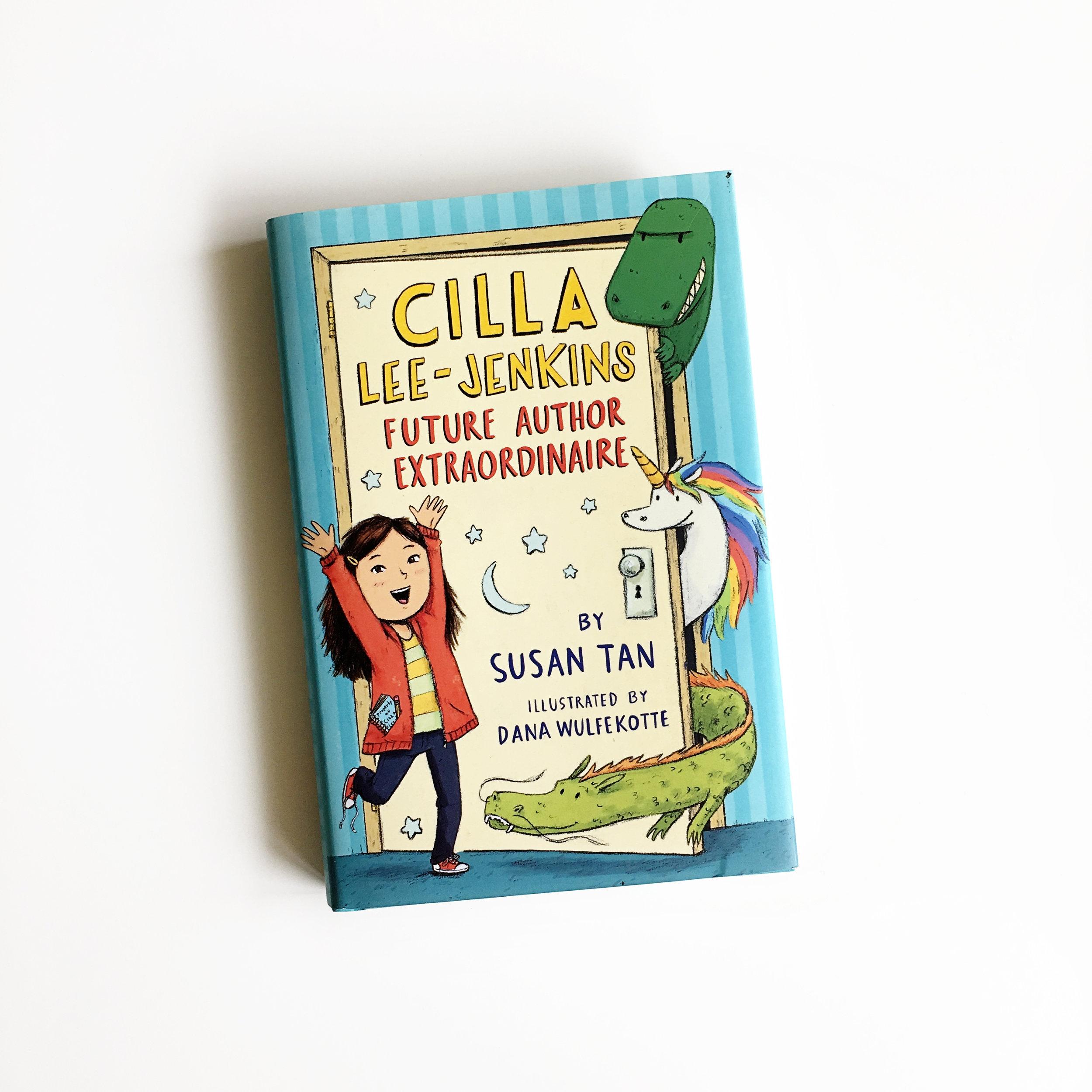 Cilla-Lee Jenkins: Future Author Extraordinaire | Little Lit Book Series