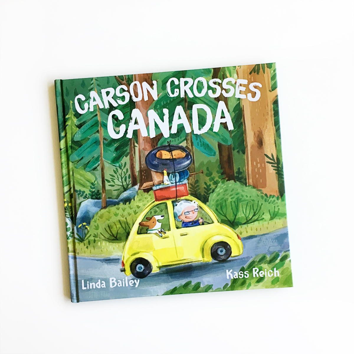 Carson Crosses Canada | Little Lit Book Series