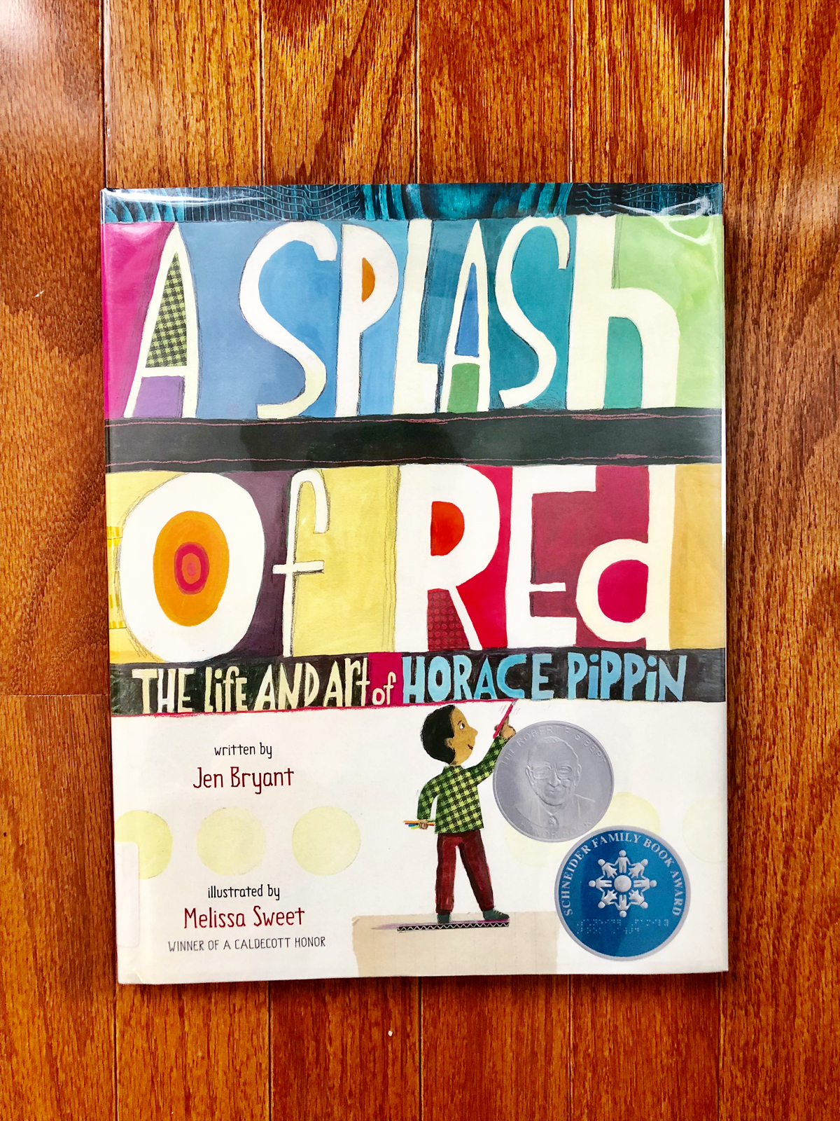 A Splash of Red: The Life and Art of Horace Pippin | Little Lit Book Series