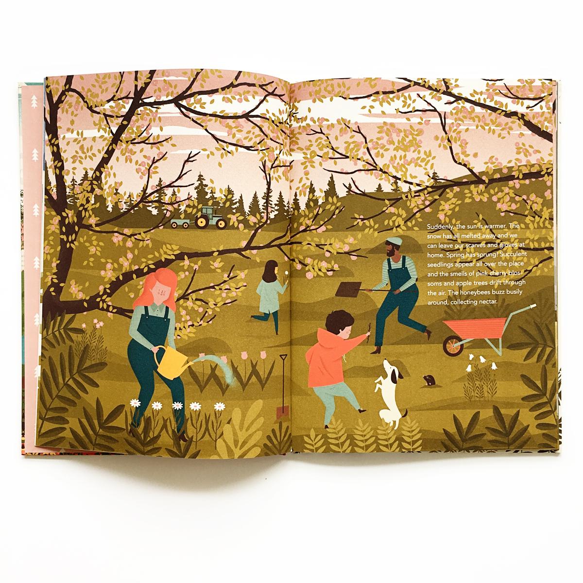 My Four Seasons | Little Lit Book Series