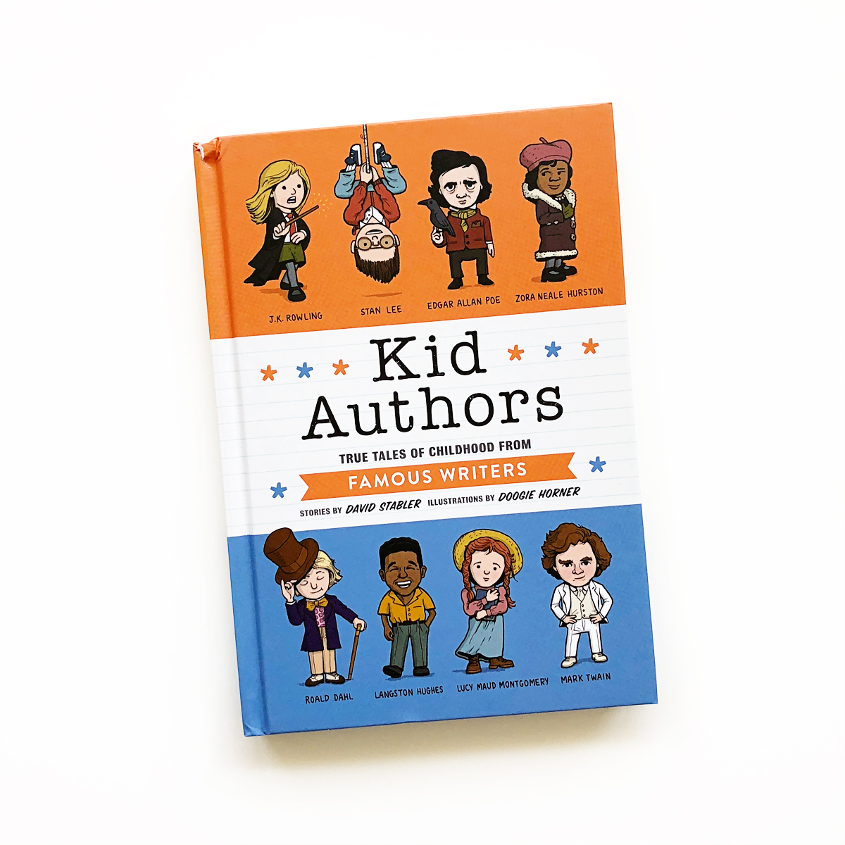 Kid Authors: True Tales of Childhood from Famous Writers | Little Lit Book Series