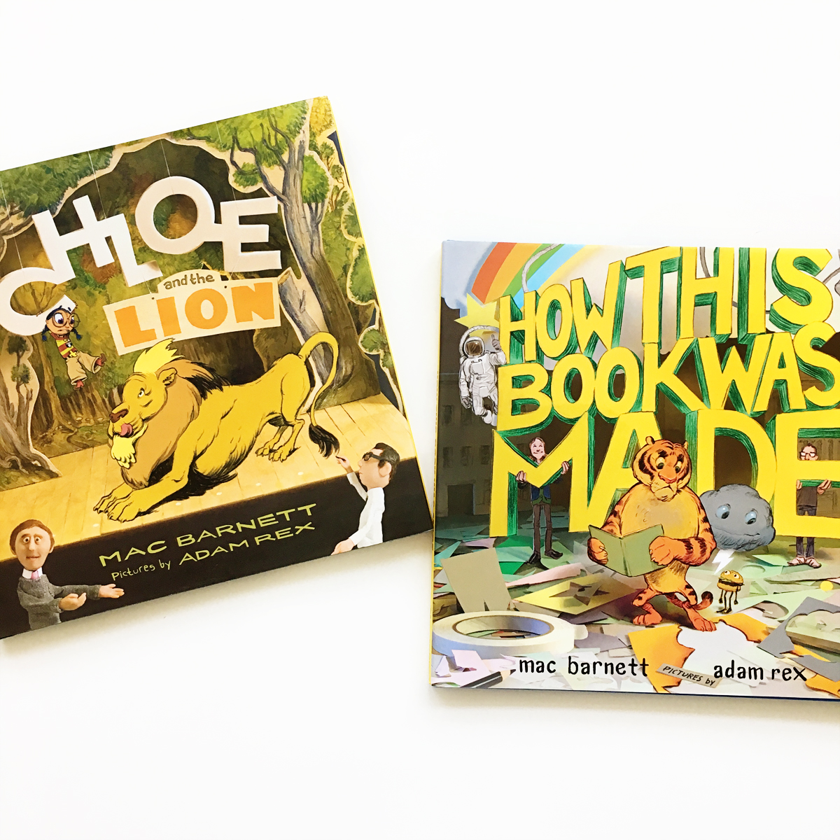 Chloe and the Lion and How a Book Is Made | Little Lit Book Series