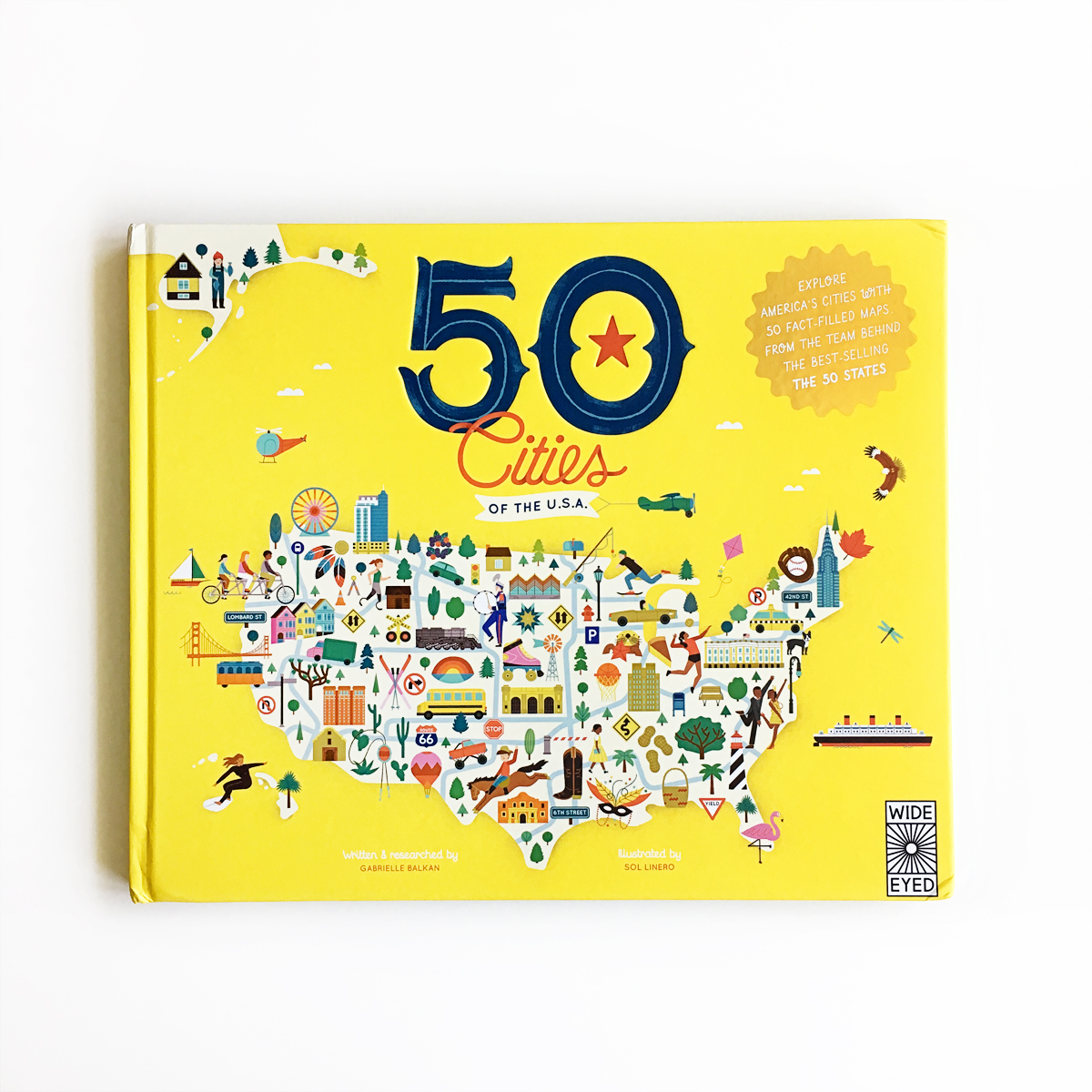 50 Cities of the USA Giveaway | Little Lit Book Series