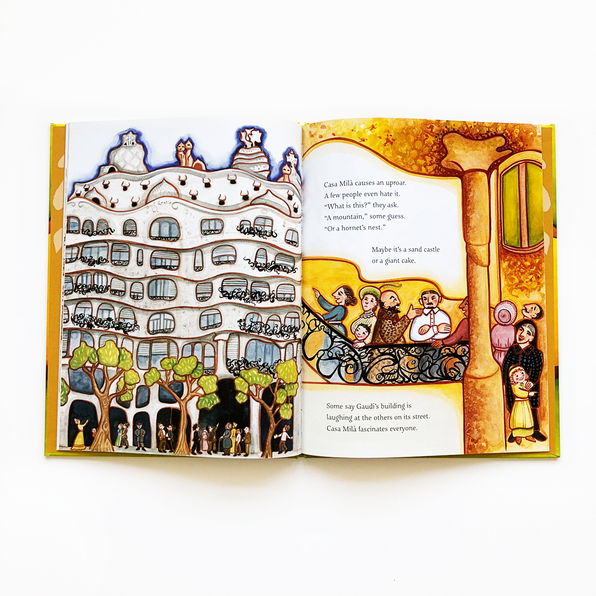 Building on Nature: The Life of Antoni Gaudí   Little Lit Book Series