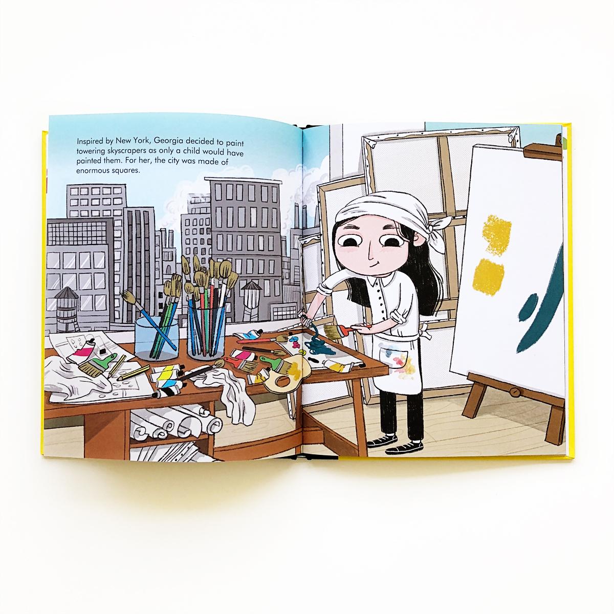 Little People, Big Dreams: Georgia O'Keeffe   Little Lit Book Series