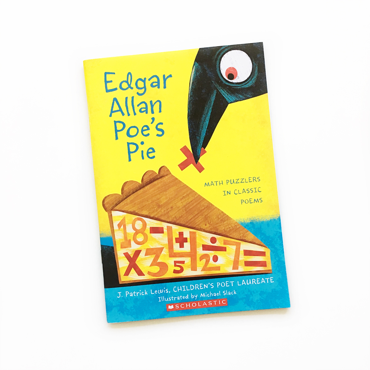 Edgar Allan Poe's Pie: Math Puzzlers in Classic Poems | Little Lit Book Series