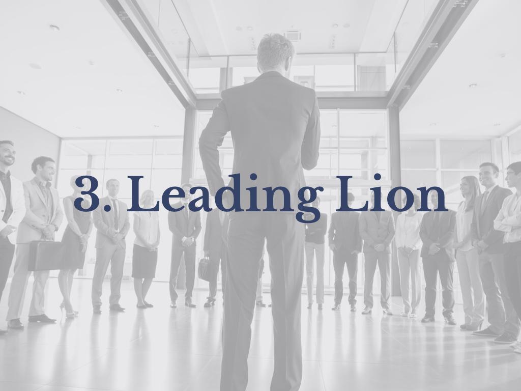 Lesson 3: Leading Lion