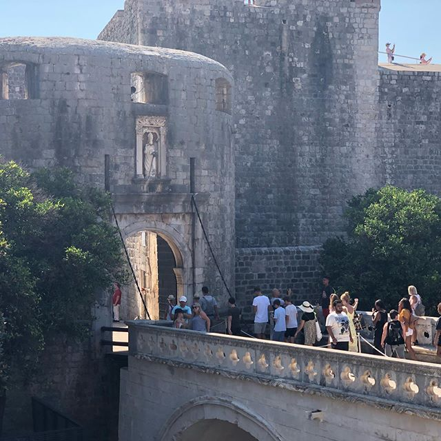 Kings landing is not burning after all #gameofthrones #dubrovnik  #croatia