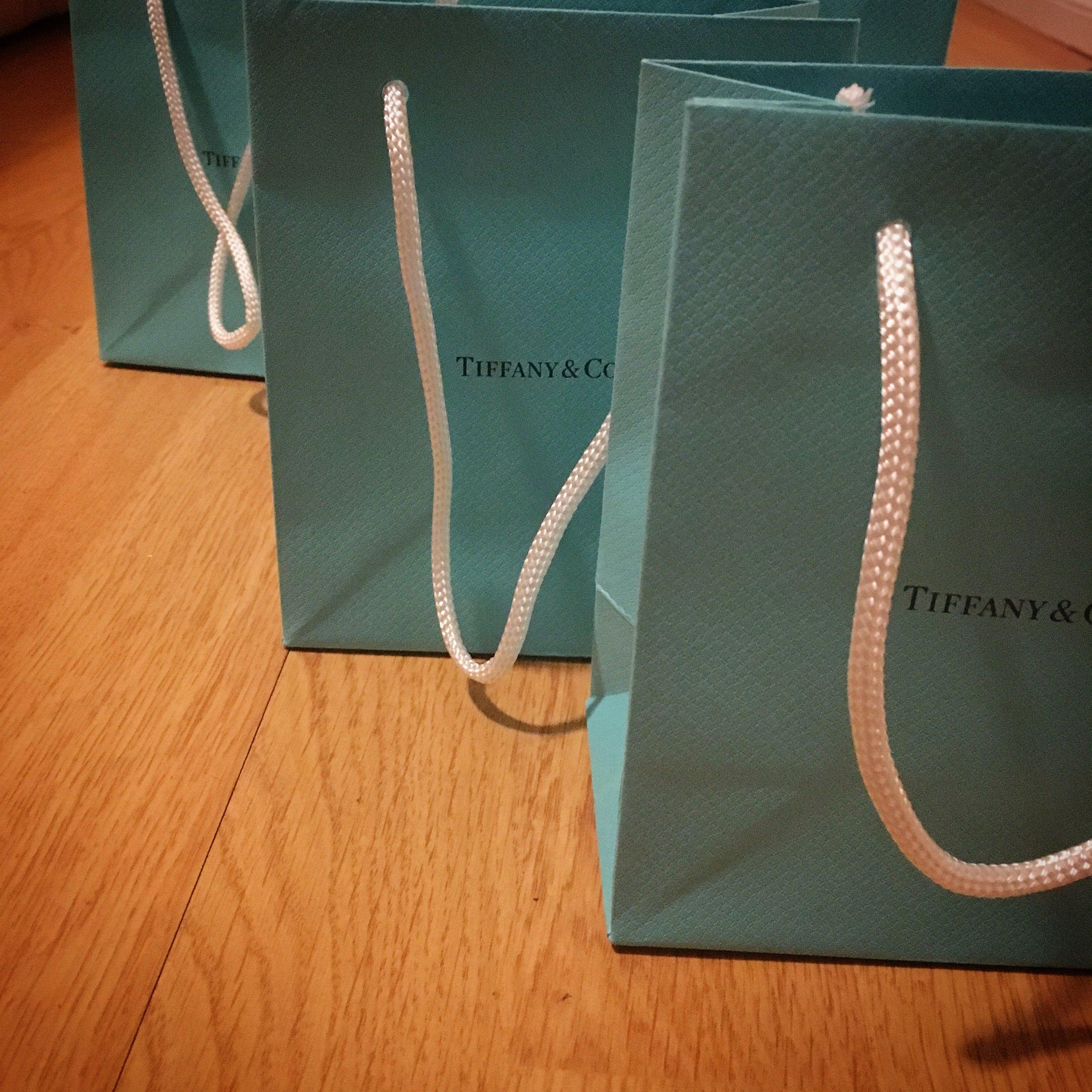 Tiny Tiffany bags