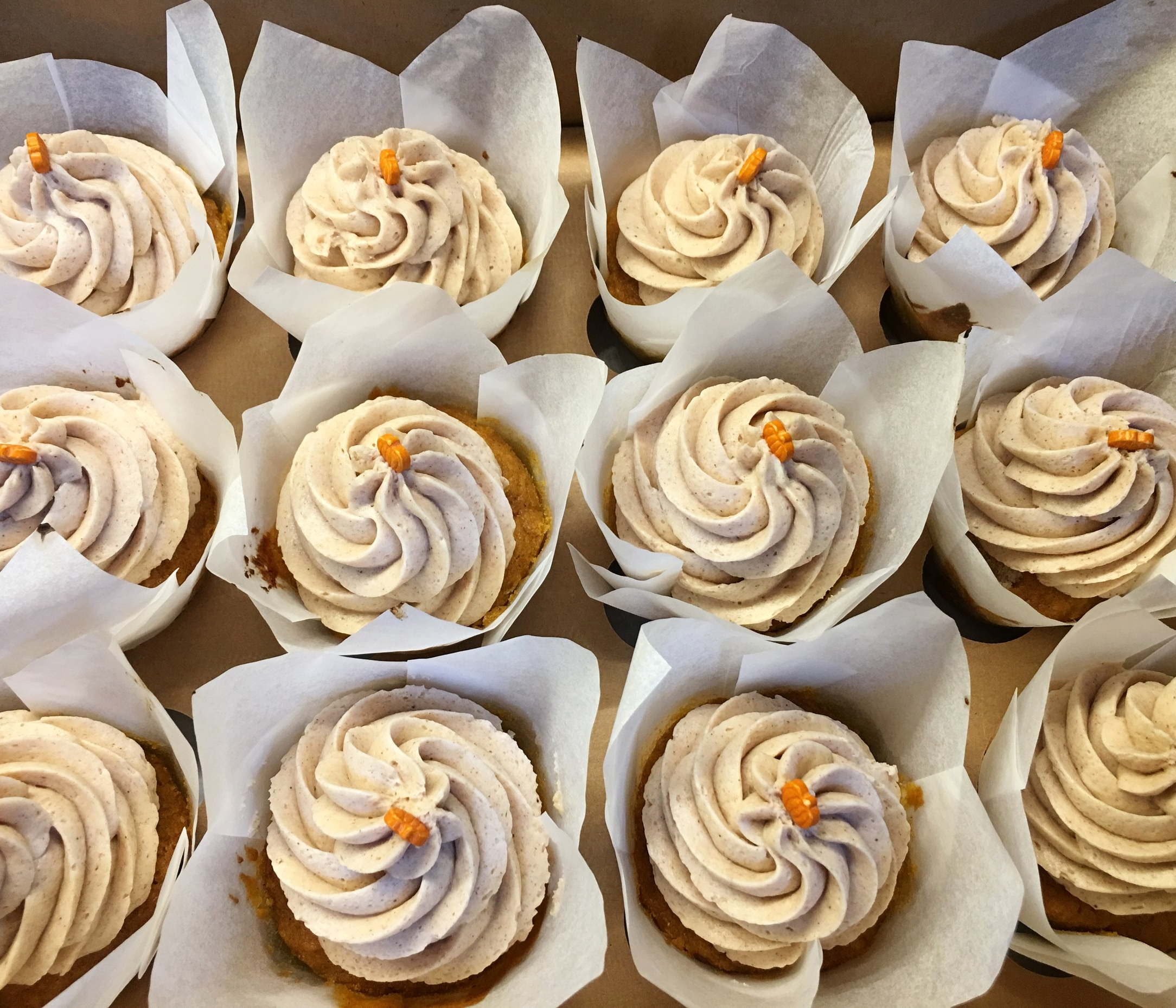 Surprise Sweet of the Week-  Pumpkin Spice Cupcakes