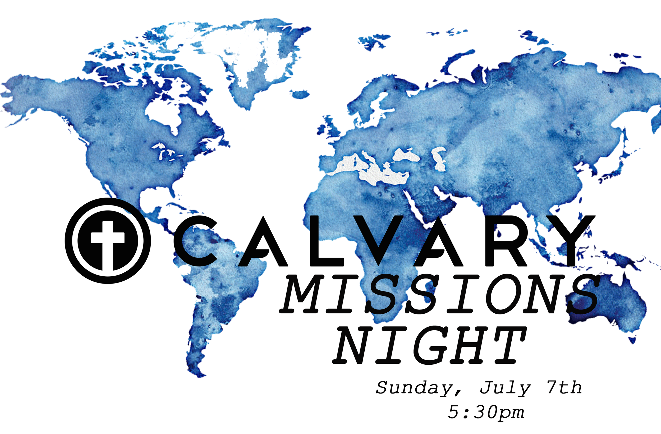 Join us for Missions Night on Sunday, July 7th @ 5:30pm for a Potluck, time of worship and testimonies from our Missionaries on the field! Potluck begins at 5:30pm in the Courtyard of Calvary Chapel San Juan Capistrano. We hope to see you there!!