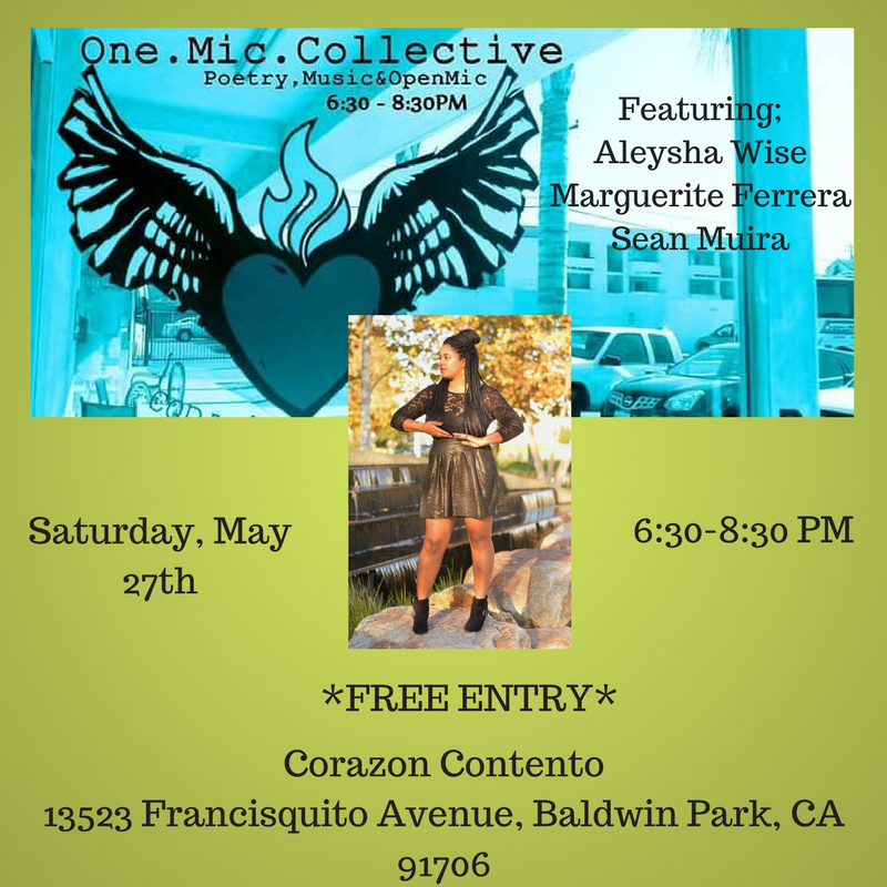An event highlighting social conscious artists doing activism in their communities and beyond. Come through!
