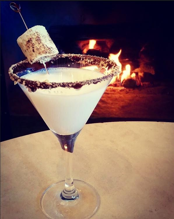 The Ritz-Carlton, Lake Tahoe's version of a s'more martini.