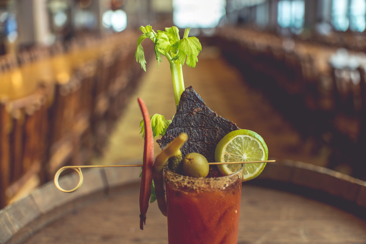 Bloody Mary at Zephyr Lodge