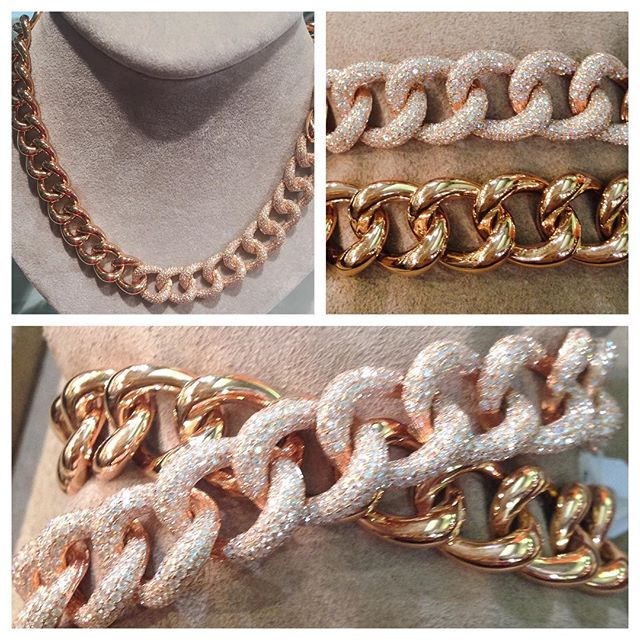 One gorgeous piece, three different ways to wear it!! #14K #rosegold #drippingindiamonds #feelyourfoundry #fabulousfoundry #findyourfoundry