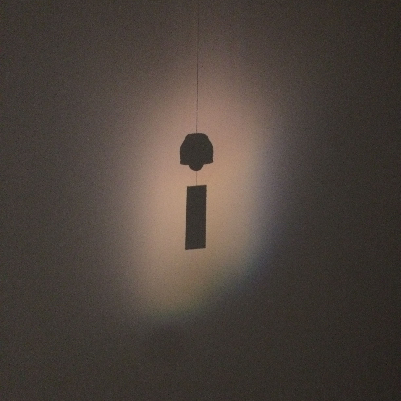 Installation detail of 'Bells of Earth' in Mono No Ke