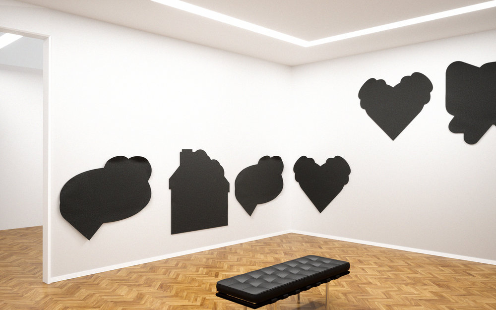 Ren Gregorčič, super sexy (installation detail), 2016