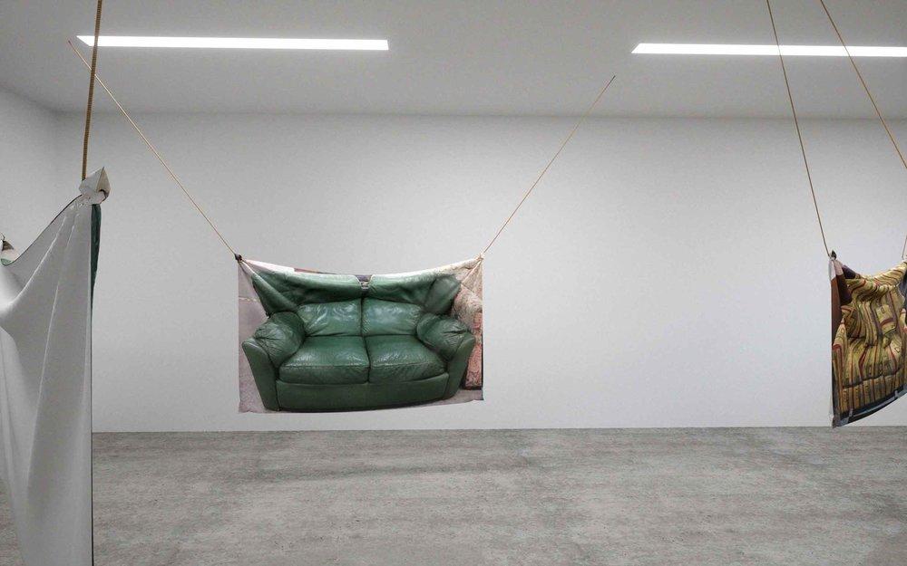Shannon Garrett and Ren Gregorčič, feel forever feels (installation detail), 2017.