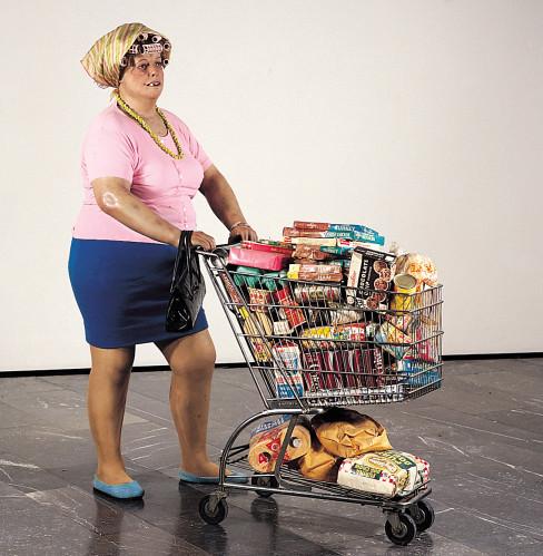 Duane Hanson, Supermarket Lady, 1969-70