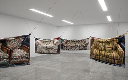 feel forever feels (installation view), Shannon Garrett and Ren Gregorčič, 2017.