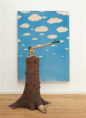 Robin Page, Baumgeist (Tree Spirit), 1972.