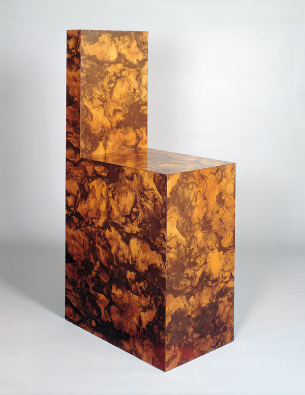 Chair 1966 Formica 151 x 46 x 77 cm via  Saatchi Gallery.