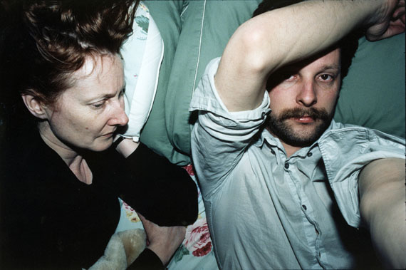 Leigh Ledare,  Mom and Me on bed (frontal),  2006. via  photography-now .