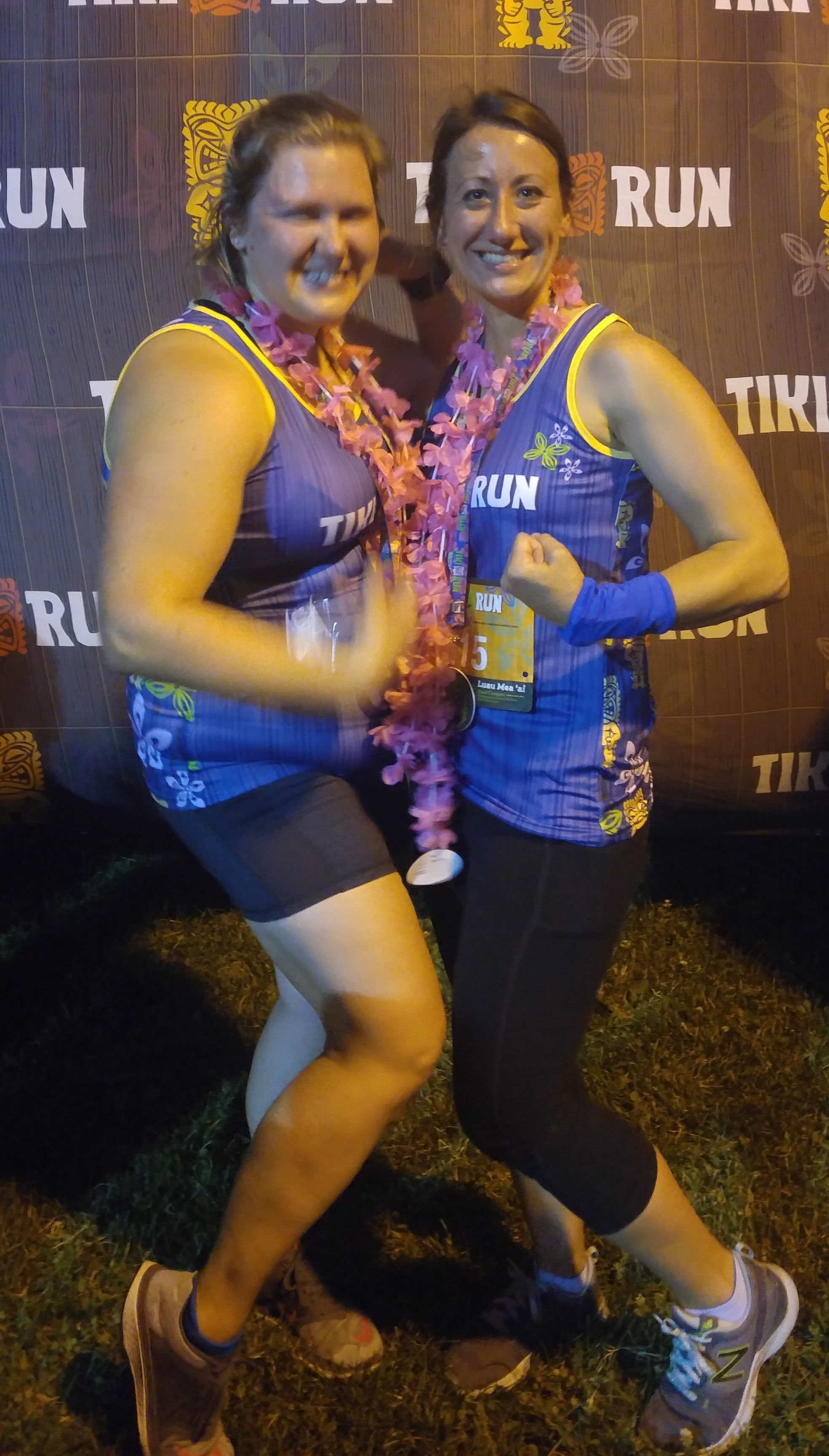 Run the Tiki Run - Check! Ran the whole thing! Not too shabby for not being a runner and it was my first 5k.