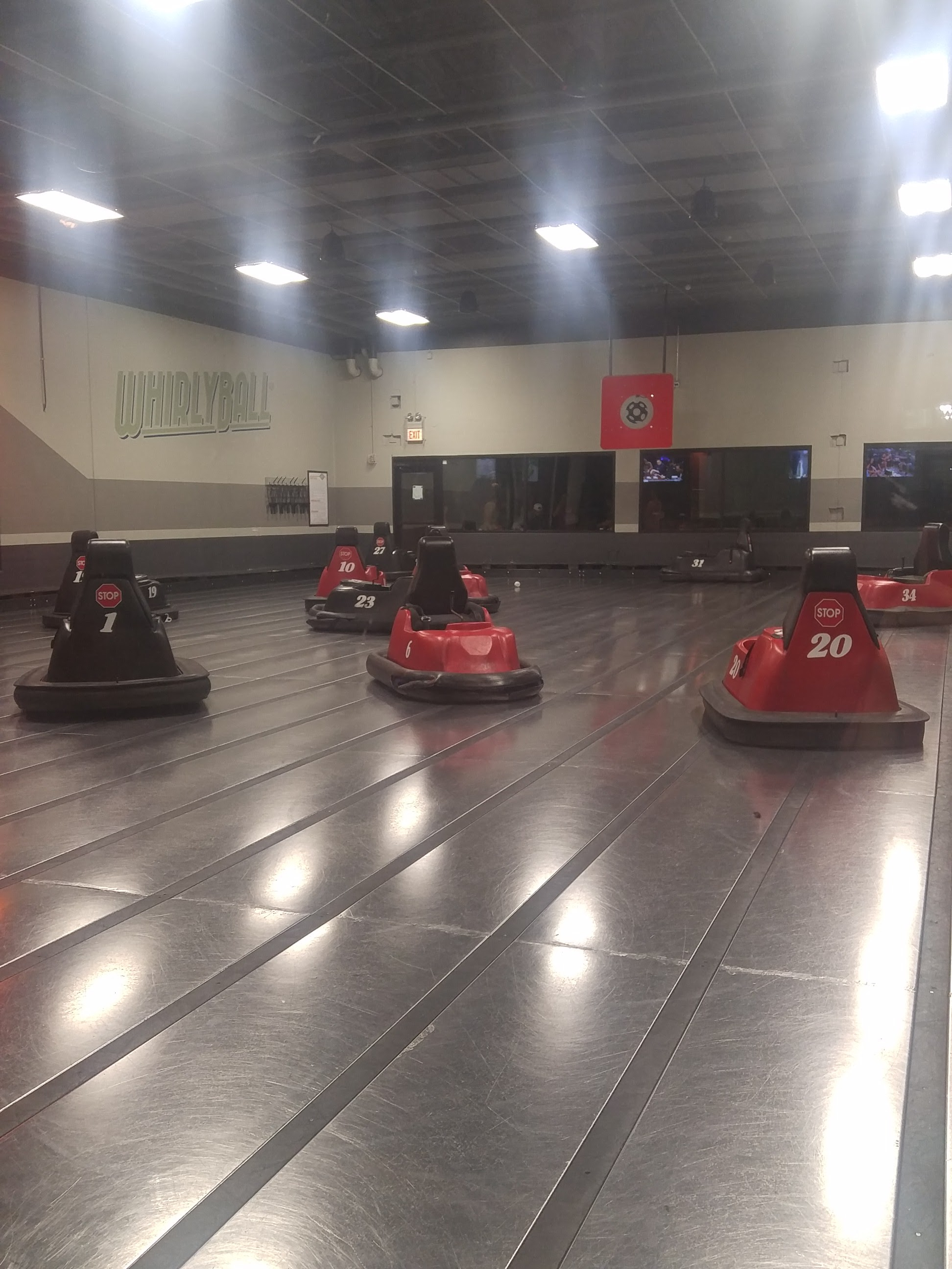 Whirlyball. I did not get to this one but walked by it and want to go even more!