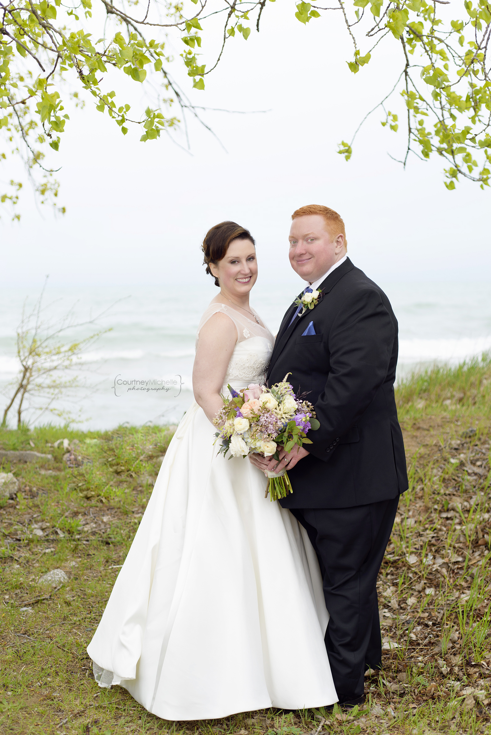 chicago-wedding-photographer-south-shore-cultural-center-lake-michigan-portrait-bride-groom