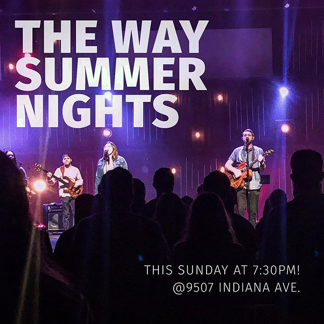 We'll see you Sunday night! Spread the word! Message us if you have questions.