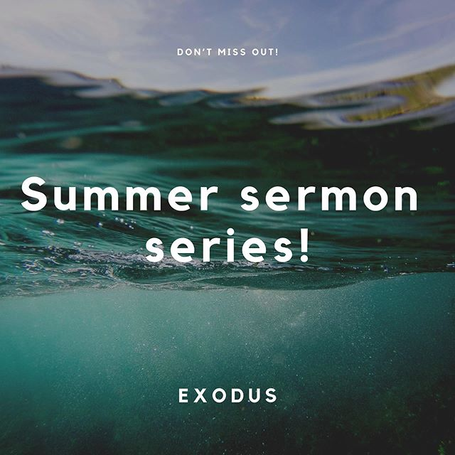 If you're out of town, don't feel like you have to miss out on our summer sermon series! Swipe left to see our app and where to locate the sermons once you open it! Available on both apple and android.