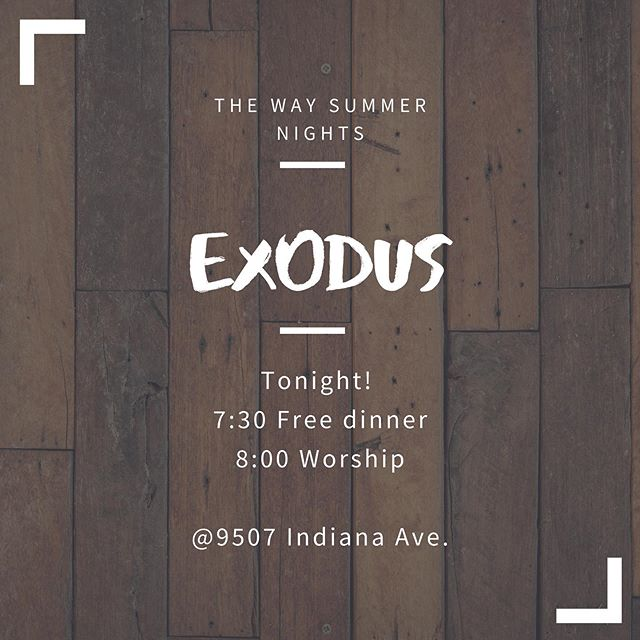 We hope to see you tonight!! Bring a friend!