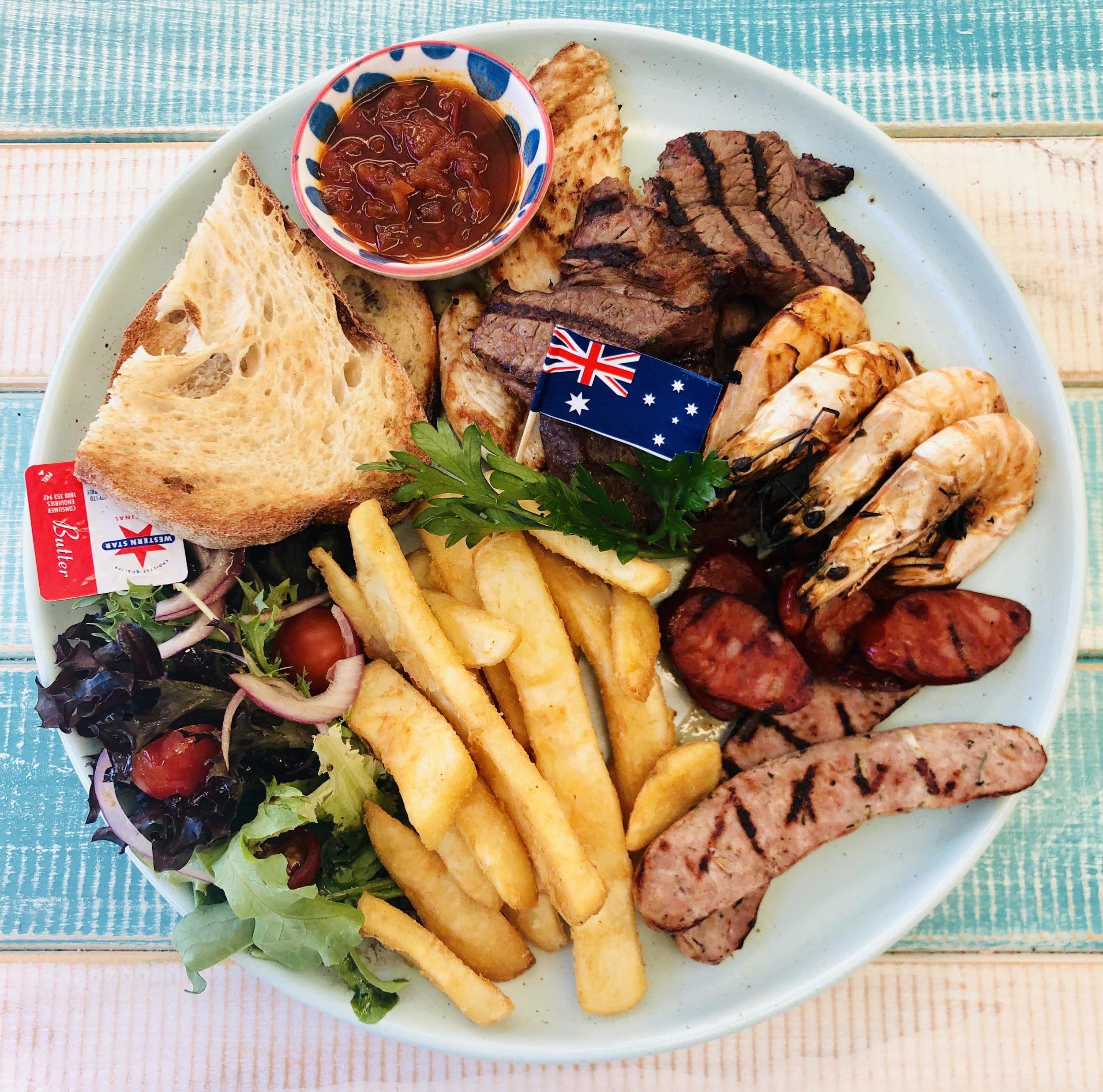 MLK Australia Day BBQ Platter