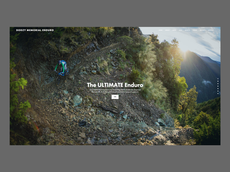 DME Website Homepage Design
