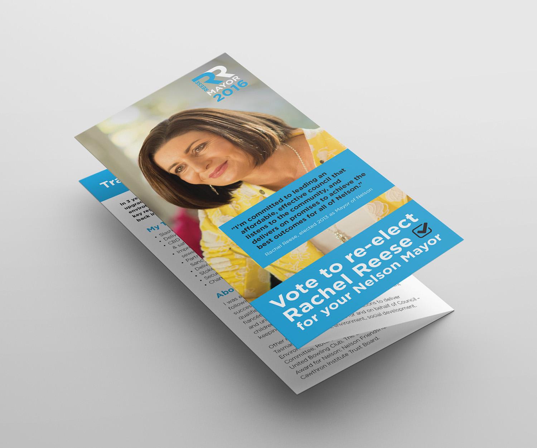 Rachel Reese Campaign DL Design