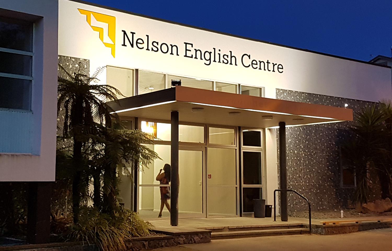 NEC Logo Signage