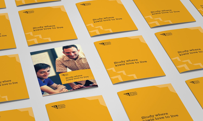 NEC Brochure Design Concepts