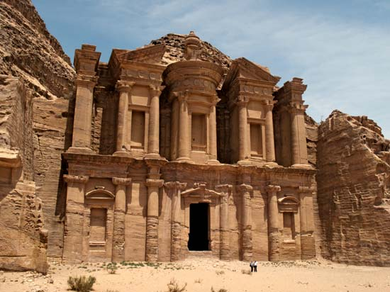 Travel to the ancient city of Petra. Explore this remote red-rock kingdom with a local Bedouin guide to see the best sights Petra has to offer.  Walk through the narrow canyon that forms the dramatic entrance to the city (the Siq), round the final corner and lay eyes on the dramatic façade of the Treasury building.  Learn a brief history of the city. Return to Wadi Musa in the late afternoon, or continue exploring on your own.     TOTAL Price for all the above $4979    Not included: International flight, gratuities, meals other than specified, drinks, Egypt Visa.   Cabin upgrades onboard Emperor Elite, per person  - Main Deck cabin: $60  - Upper Deck Cabin: $80  - Executive Suite: $350     Deviation options:   1. Egypt trip but without Jordan:  - Standard Cabin: $3400.  2. Egypt & Jordan sightseeing only no Red Sea Diving  - Double occupancy: $3250.