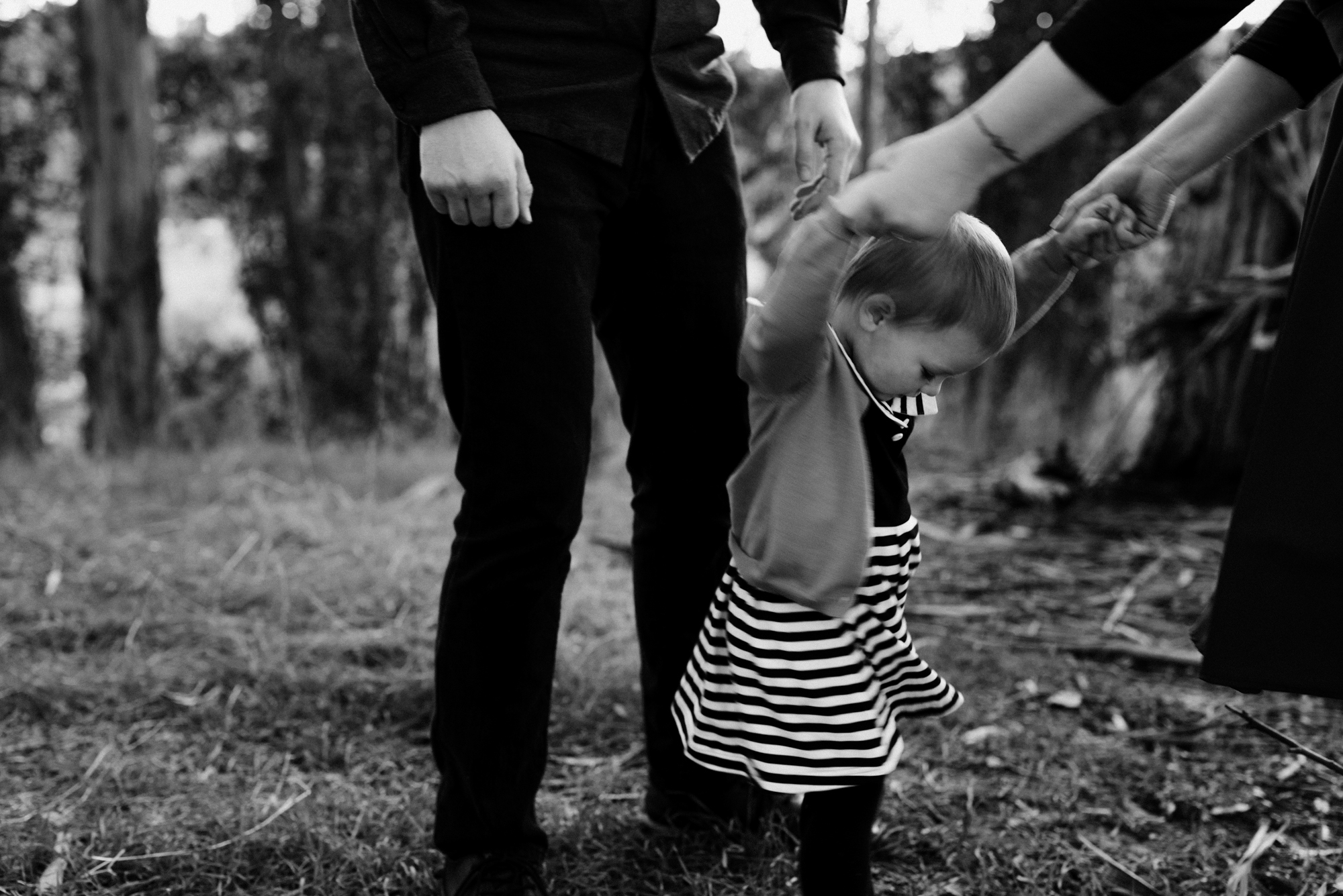 Family dance party - family portrait photography by Caroline Alexander