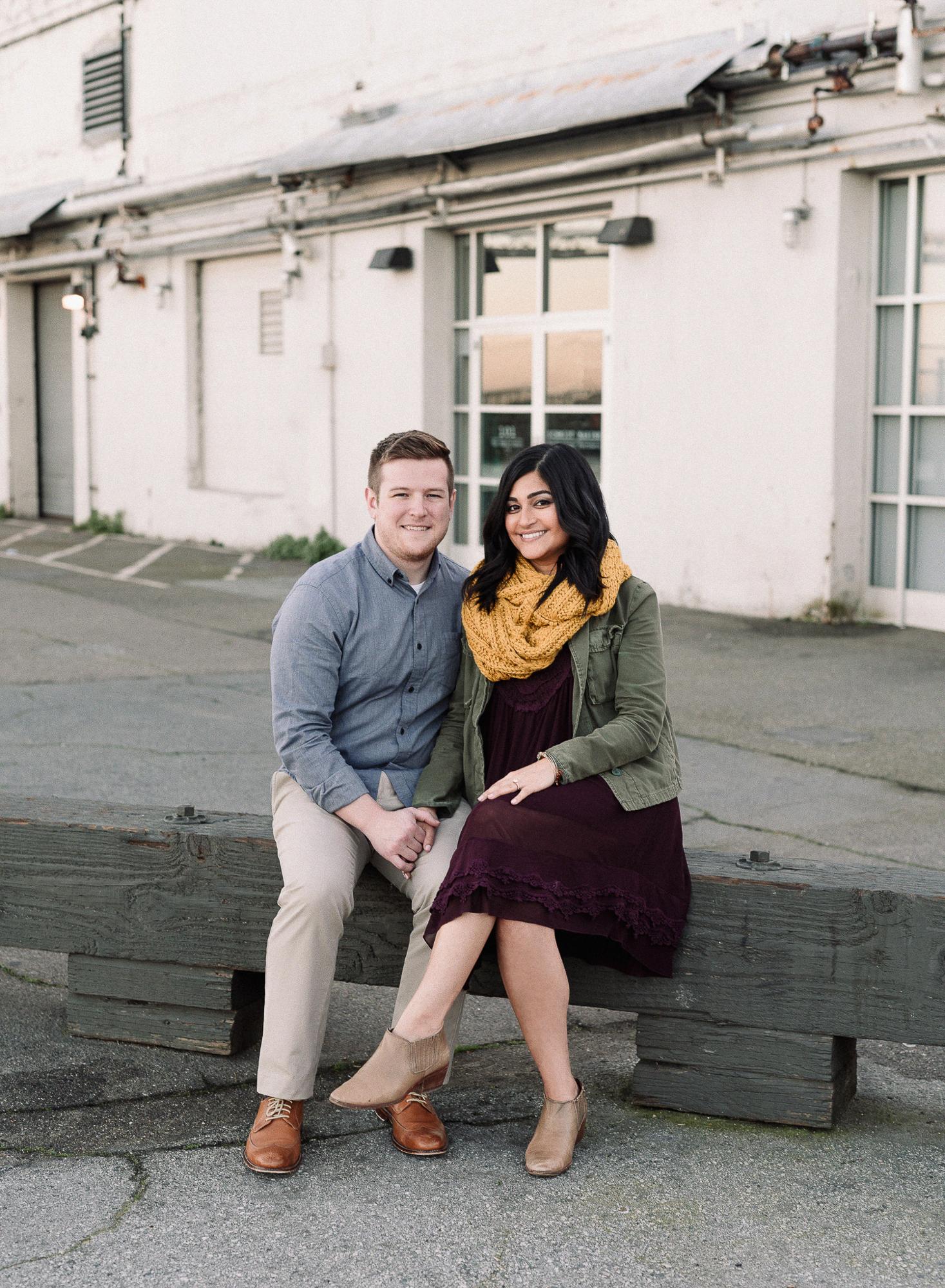 San Francisco Engagement Photographs by Caroline Alexander Photo