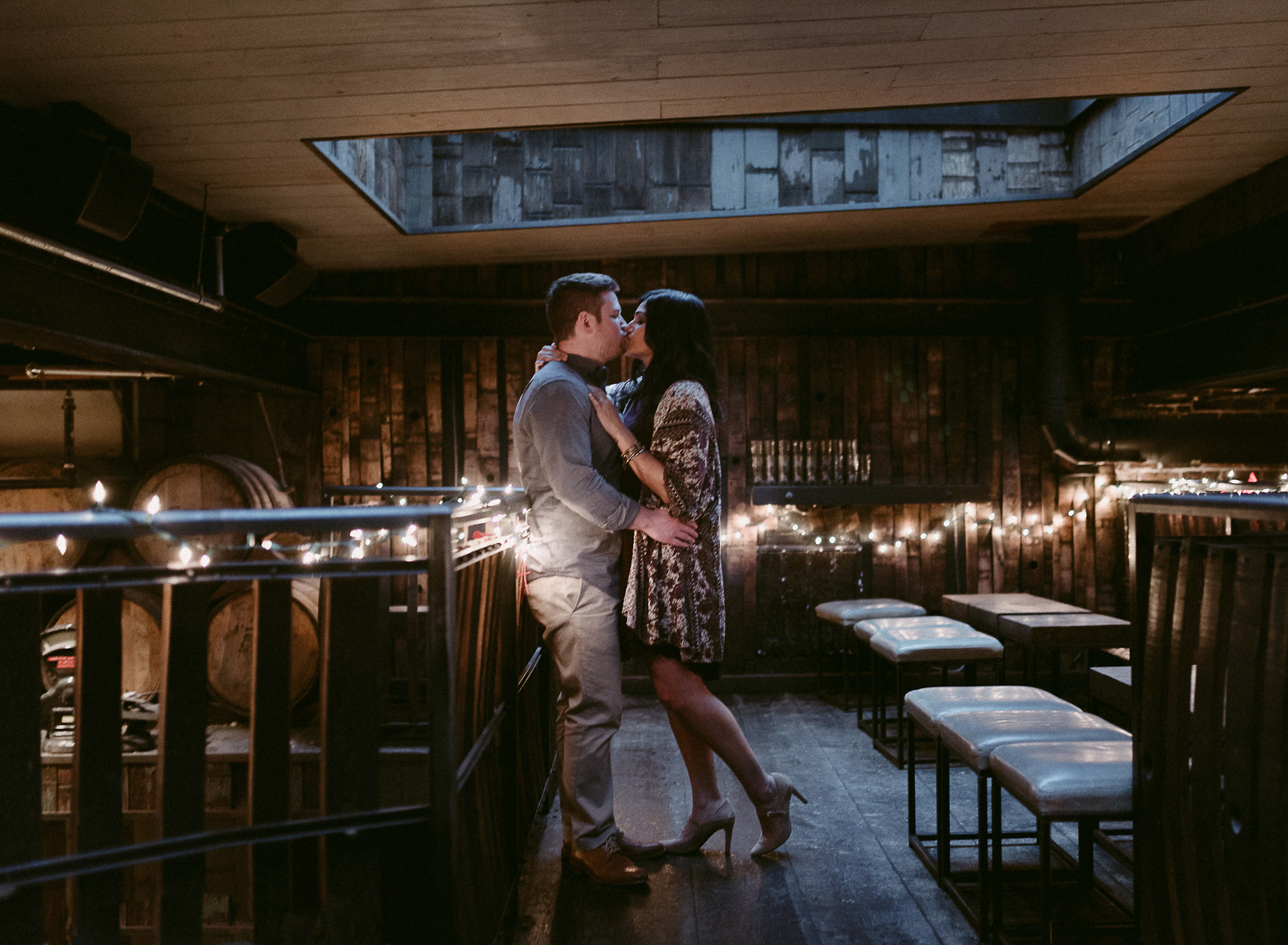 Romantic Engagement Portraits in San Francisco